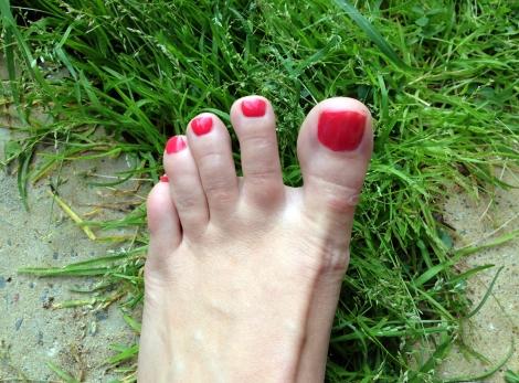nail polish toe creatures photo