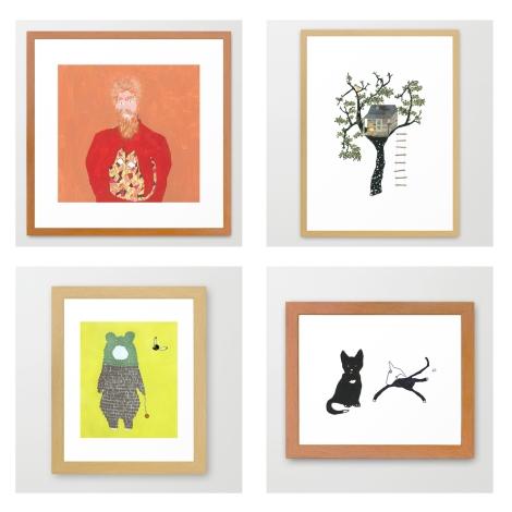 leftover universe artworks framed