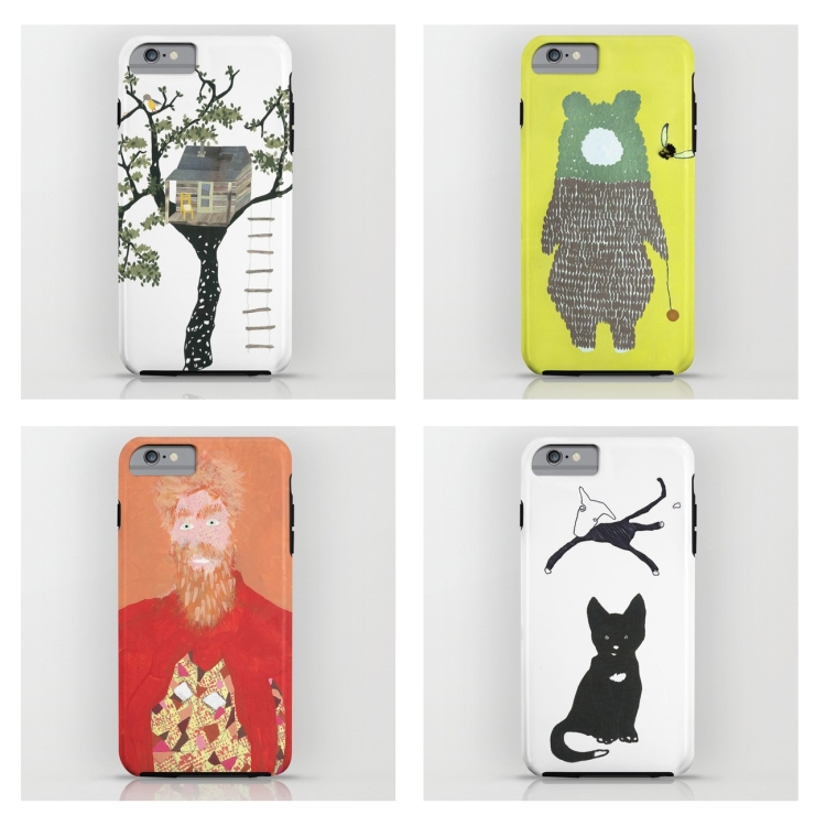 leftoveruniverse on iPhone cases