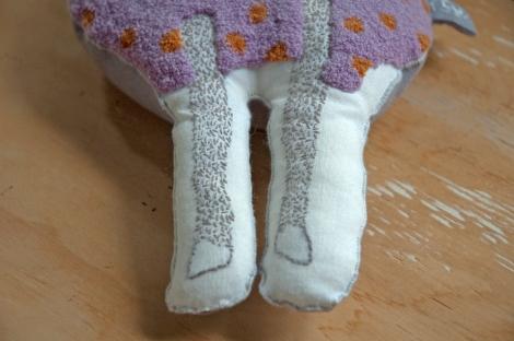 BAAA close up legs